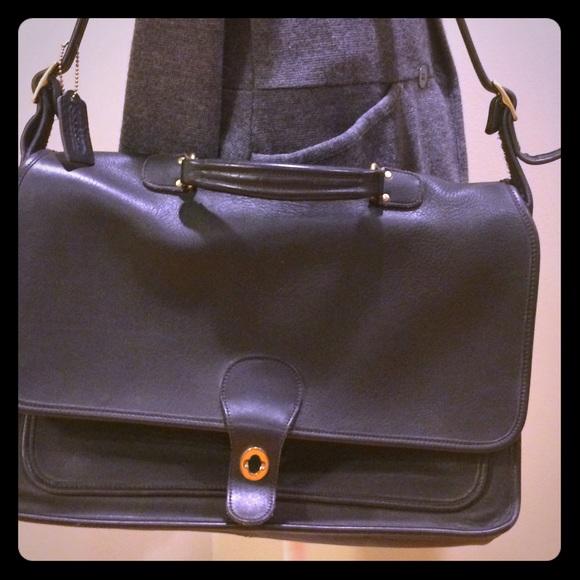 1039a74d8b7b Coach Handbags - Coach soft sided briefcase